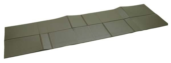 - Mil-Tec BW Iso-Matte Faltbar 190x60x0,5 cm oliv