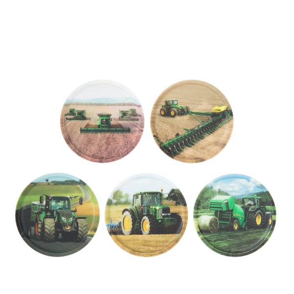 ergobag Kletties-Set (5-tlg.) landmaschinen
