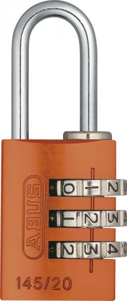 orange - Abus 145/20 Vorhangschloss