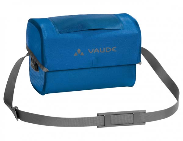 Vaude Aqua Box mit KlickFix-Adapter blue