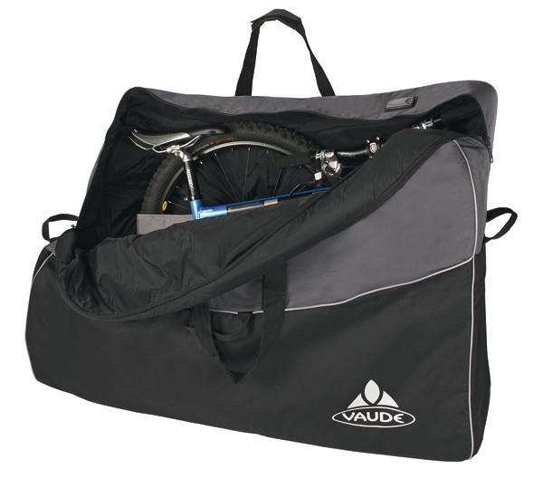 - Vaude Big Bike Bag Transporttasche black/anthracite
