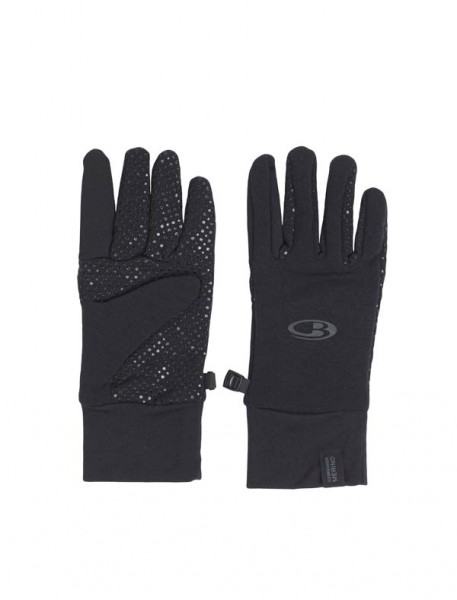 black - Icebreaker Sierra Gloves