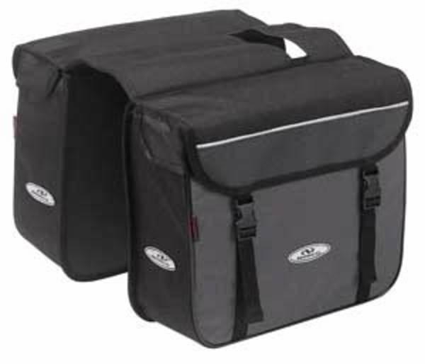 Norco Ottawa Zweifachtasche schwarz (Paar)