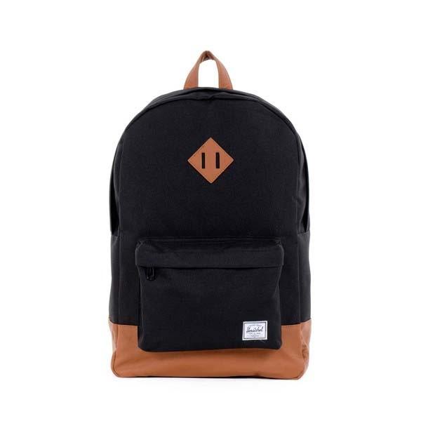 black/tan - Herschel Heritage Backpack