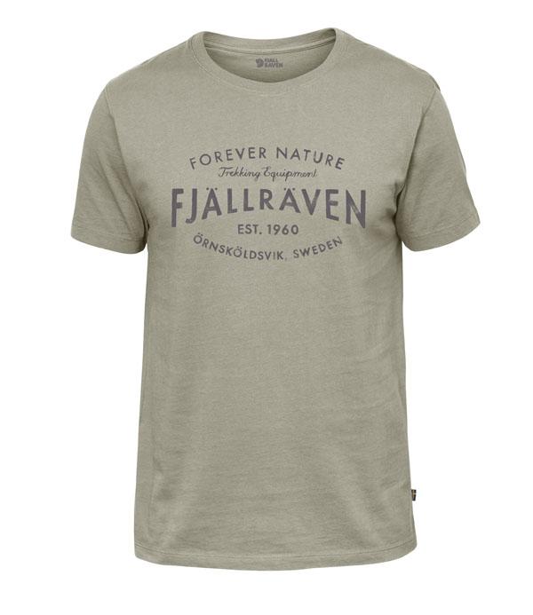 Fjällräven Est. 1960 T-Shirt fog M
