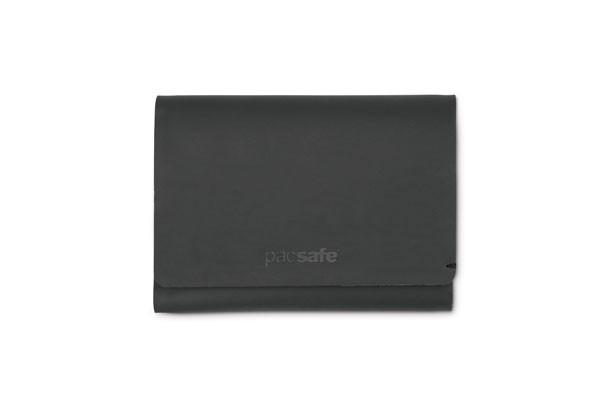 black - Pacsafe RFIDsafe TEC Trifold Wallet