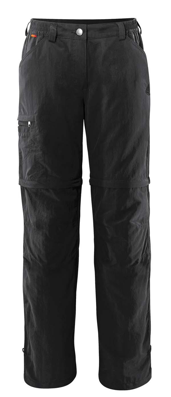 Vaude Womens Farley ZO Pants IV black 48 sht
