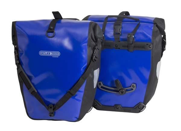 ultramarinblau-schwarz - Ortlieb Back-Roller Classic (Paar)