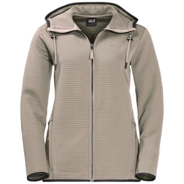 dusty grey - Jack Wolfskin Modesto Hooded Jacket Women