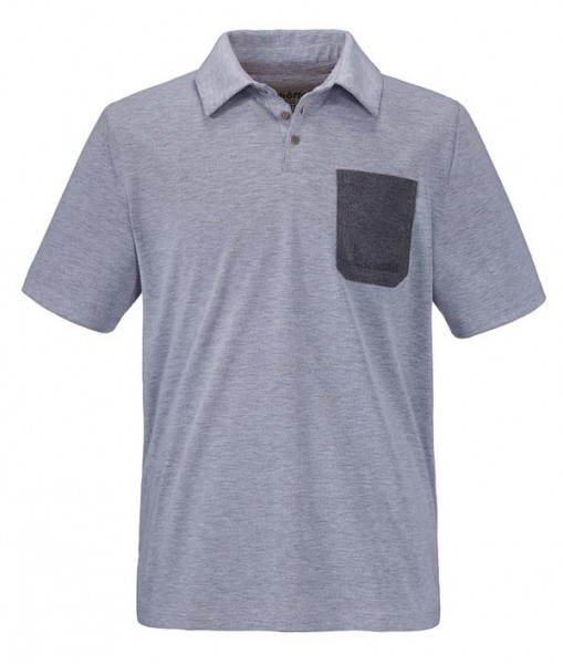 melange mittelgrau - Schöffel Polo Shirt Bilbao