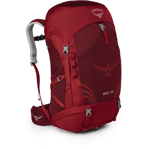Osprey Ace 38 Kids paprika red