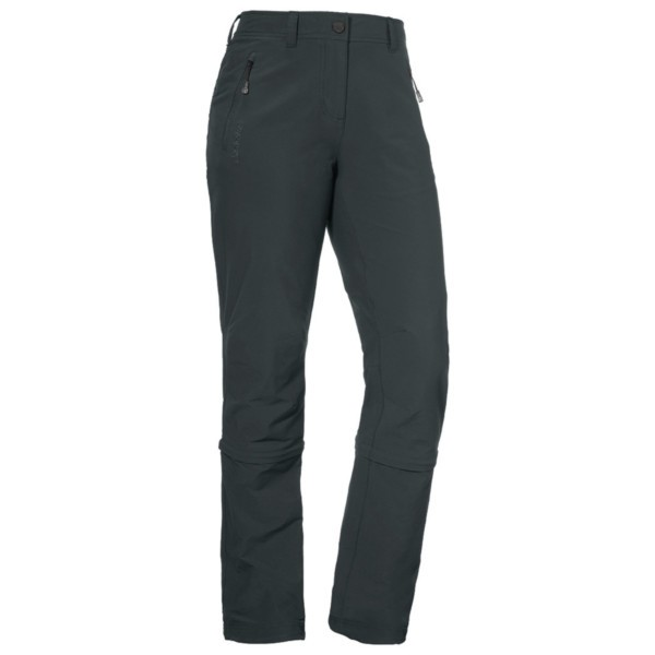 charcoal - Schöffel Pants Engadin Zip Off