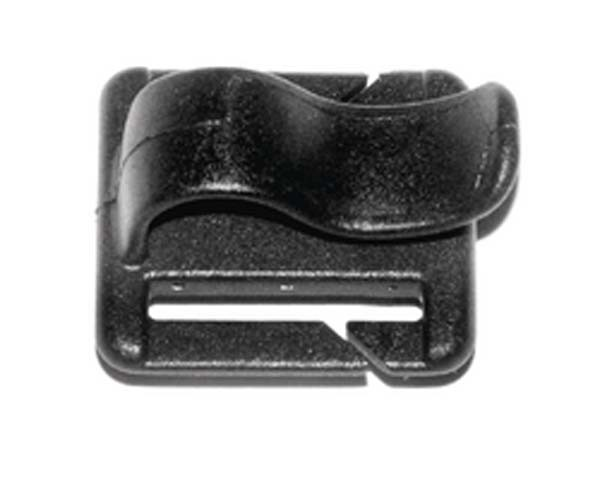 black - Deuter H2O Tube Clip 20 mm