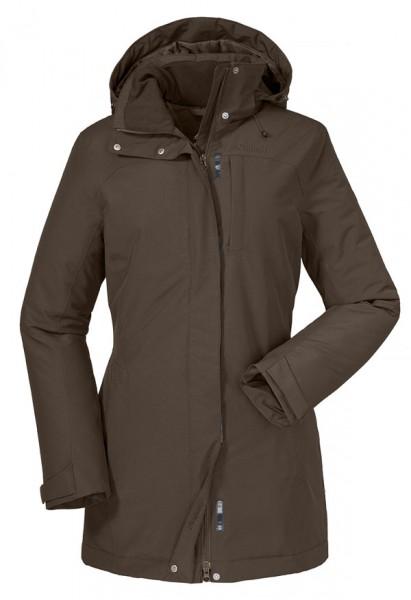rugged brown - Schöffel Insulated Jacket Portillo