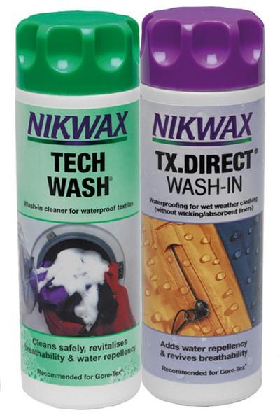 Nikwax Tech Wash + TX Direct 2 x 300 ml