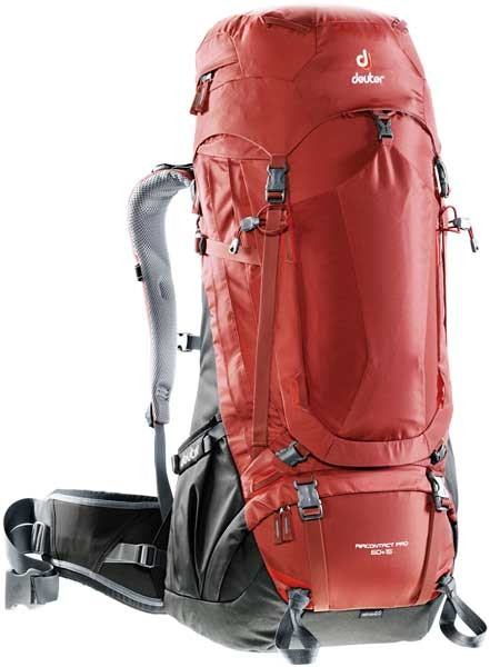 lava-anthracite - Deuter Aircontact Pro 60+15