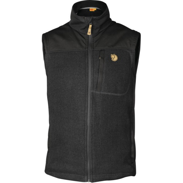 graphite - Fjällräven Buck Fleece Vest