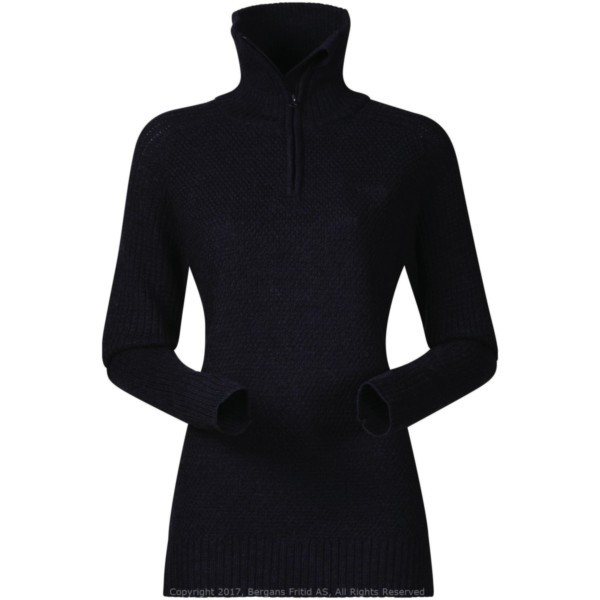 dark blue melange - Bergans Ulriken Lady Jumper