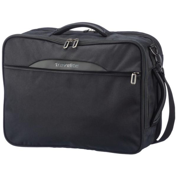 schwarz - Travelite Crosslite Kombi-Tasche