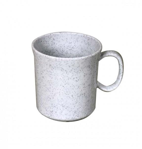 granit - Waca Melamin Henkelbecher, 400 ml