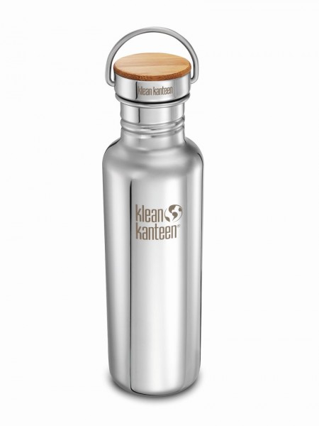 mirrored stainless 2018 - Klean Kanteen Reflect mit Stainless Unibody Bamboo Cap 800 ml