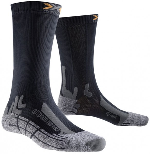 anthracite - X-Socks Outdoor Mid Calf