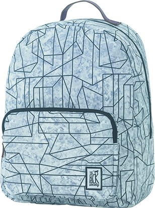 geometric marble allover - The Pack Society Backpack Cool Prints
