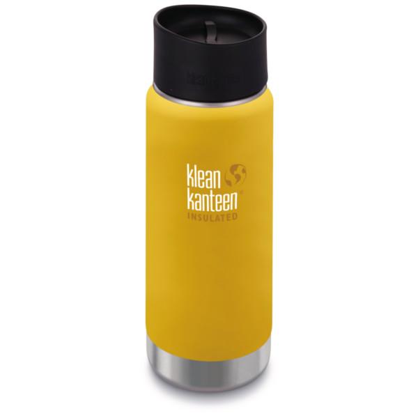 Klean Kanteen Wide Insulated mit Cafe Cap 2.0 473 ml lemon curry (matt)