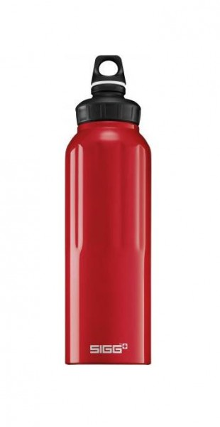 Sigg Wide Mouth Traveller red 1,5 L
