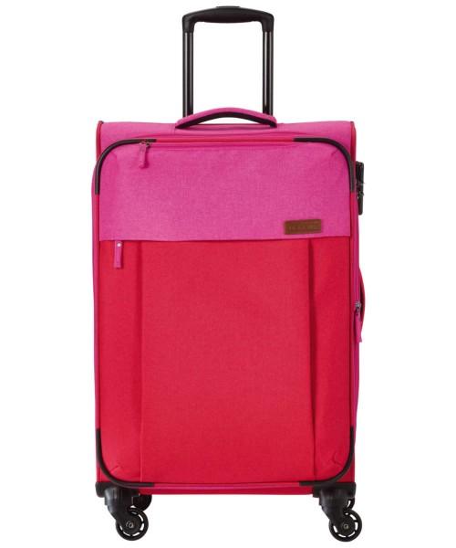 rot/pink - Travelite Neopak 4-Rad Trolley M erweiterbar