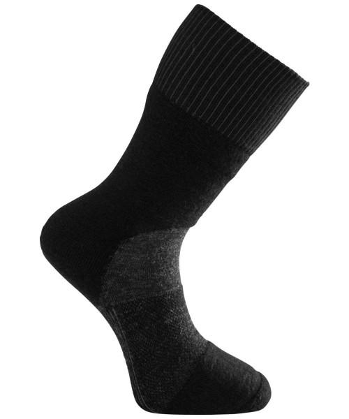black/dark grey - Woolpower Socks Skilled Classic 400
