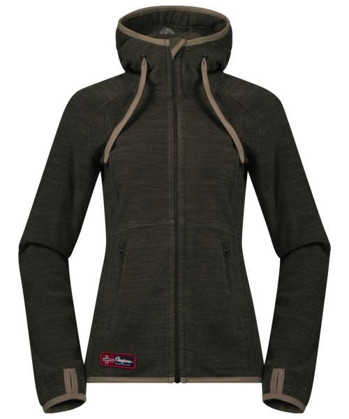 seaweed mel/khakigreen - Bergans Hareid Lady Jacket