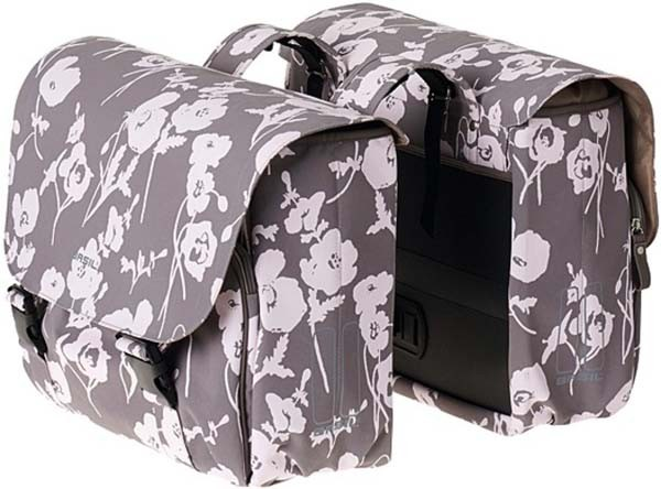 taupe - Basil Elegance Doppeltasche