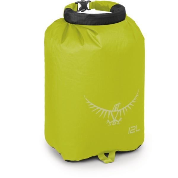 electric lime - Osprey Ultralight DrySack 12 Liter