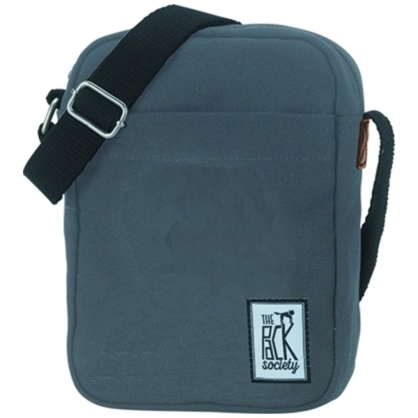 solid charcoal - The Pack Society Small Shoulder Bag Classics