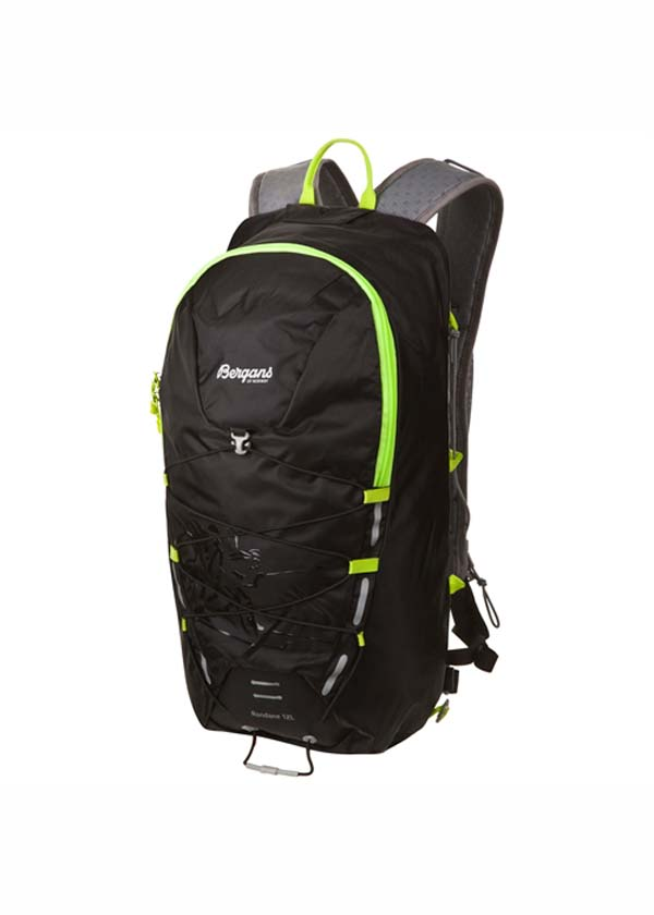 Bergans Rondane 12 L black/neongreen