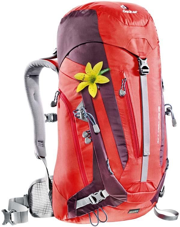 Deuter ACT Trail 28 SL fire-aubergine
