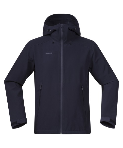 dark navy/nightblue - Bergans Ramberg Softshell Jacket