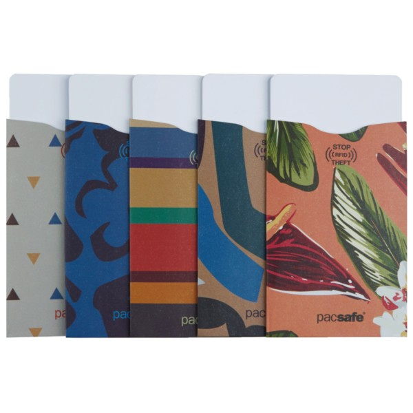 Pacsafe RFIDsleeve 25 (5 pack) tropical