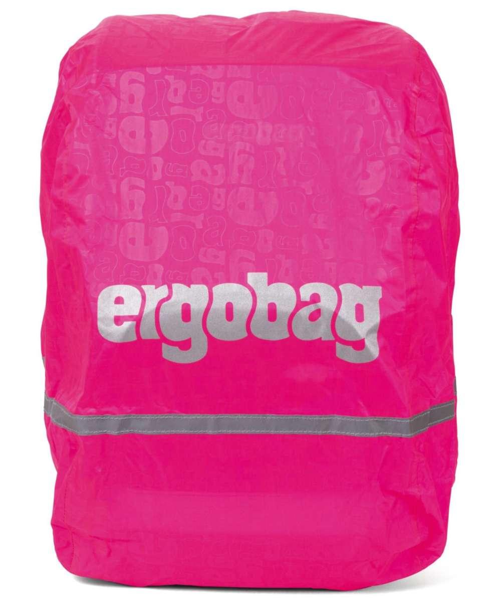 ergobag Regencape reflektierend und fluoreszierend Pink fluoreszierend
