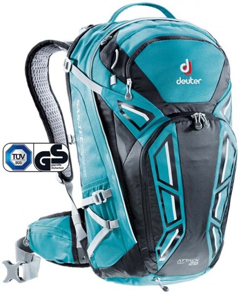 - Deuter Attack Tour 28 petrol-black