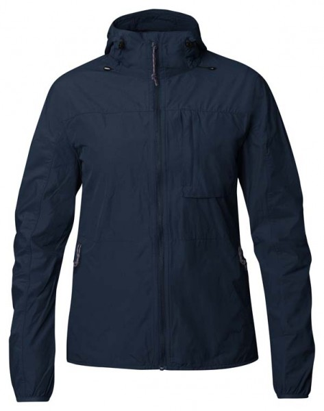 navy - Fjällräven High Coast Wind Jacket W