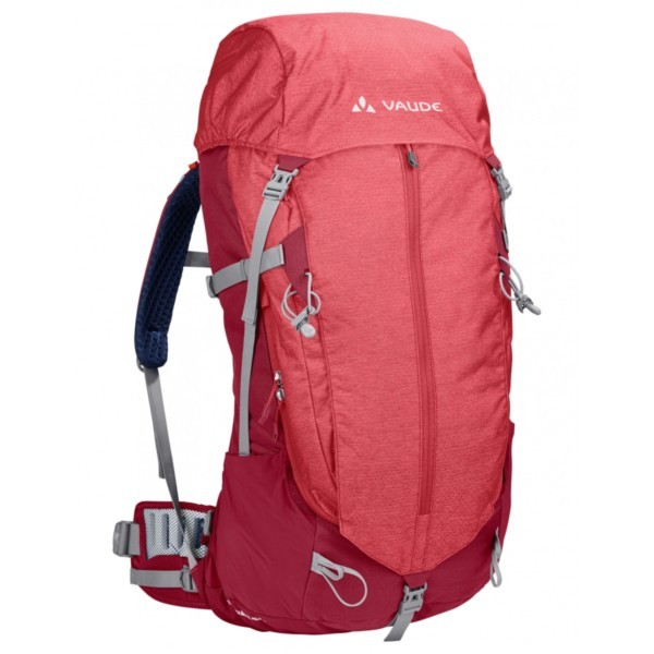 indian red - Vaude Women Brentour 42+10