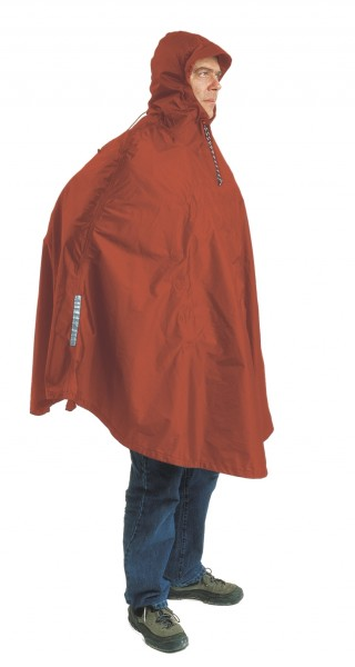terracotta - Exped Daypack/Bike Poncho