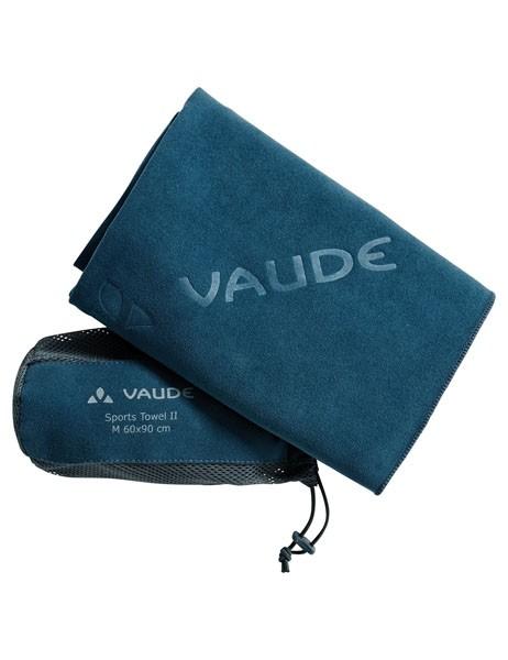 blue sapphire - Vaude Sports Towel II L