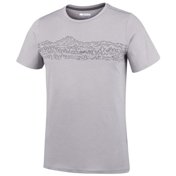 columbia grey heather - Columbia Hillvalley Forest Short Sleeve Tee