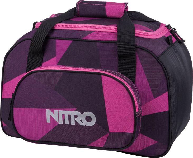 Nitro Duffle Bag XS fragments purple