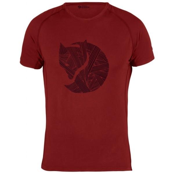 lava - Fjällräven Abisko Trail T-Shirt Fox Print M