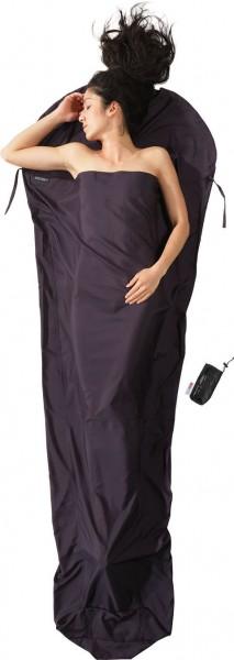- Cocoon Mummy Liner Thermolite Silkweight 241x90/56 cm volcano grey