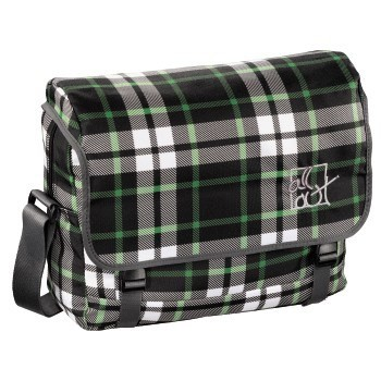 forest check - All Out Schultertasche Barnsley